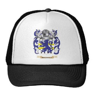 Escudo de armas de Bagnall (escudo de la familia) Gorras