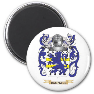 Escudo de armas de Bagnall escudo de la familia Imanes De Nevera