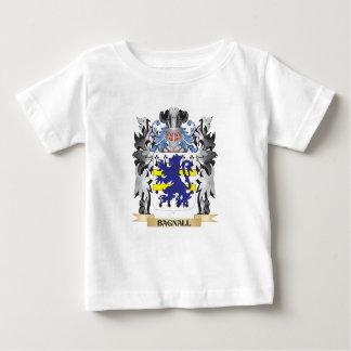 Escudo de armas de Bagnall - escudo de la familia T-shirt