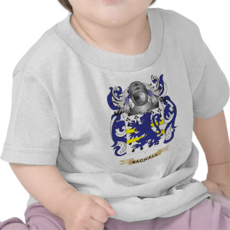 Escudo de armas de Bagnall escudo de la familia Camiseta