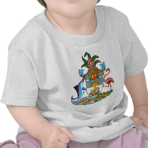 Escudo de armas de Bahamas Camiseta