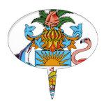 Escudo de armas de Bahamas Decoraciones De Tartas