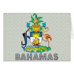 Escudo de armas de Bahamas Felicitacion