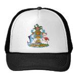 Escudo de armas de Bahamas Gorras