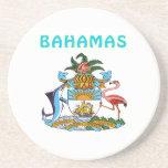 Escudo de armas de Bahamas Posavasos Manualidades