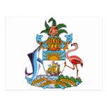 Escudo de armas de Bahamas Postal