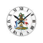 Escudo de armas de Bahamas Relojes