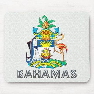 Escudo de armas de Bahamas Alfombrillas De Ratones