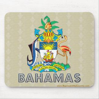 Escudo de armas de Bahamas Alfombrilla De Raton
