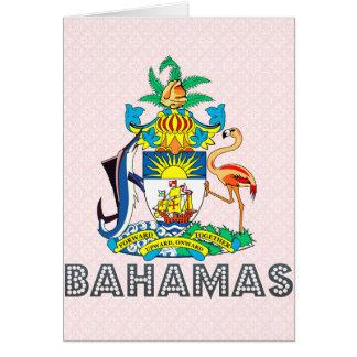 Escudo de armas de Bahamas Felicitaciones