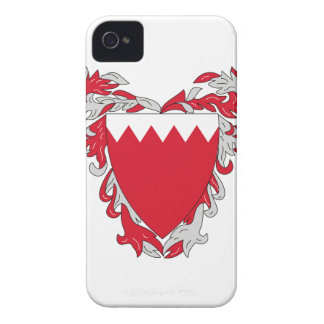 Escudo de armas de Bahrein Case-Mate iPhone 4 Cárcasas