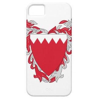 Escudo de armas de Bahrein iPhone 5 Coberturas