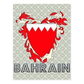 Escudo de armas de Bahrein Postal