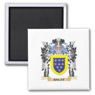 Escudo de armas de Bailey - escudo de la familia Imán Cuadrado