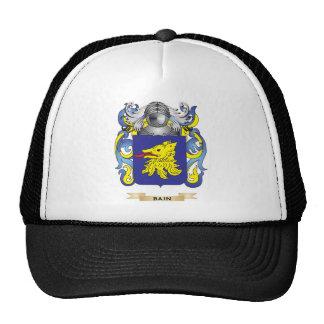 Escudo de armas de Bain (escudo de la familia) Gorro De Camionero