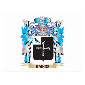 Escudo de armas de Baines Postales