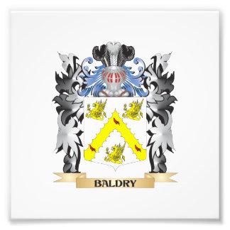 Escudo de armas de Baldry - escudo de la familia Cojinete