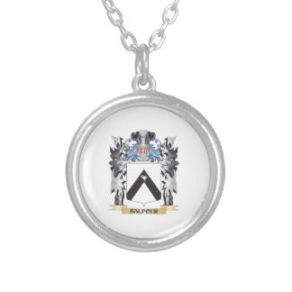 Escudo de armas de Balfour - escudo de la familia Colgante Redondo