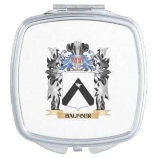 Escudo de armas de Balfour - escudo de la familia Espejos Maquillaje