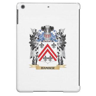 Escudo de armas de Bamber - escudo de la familia Funda Para iPad Air
