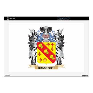Escudo de armas de Bancroft - escudo de la familia Calcomanías Para 43,2cm Portátiles