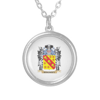 Escudo de armas de Bancroft - escudo de la familia Colgante Redondo