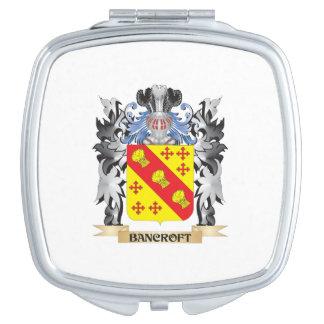 Escudo de armas de Bancroft - escudo de la familia Espejos Compactos