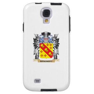 Escudo de armas de Bancroft - escudo de la familia Funda Para Galaxy S4