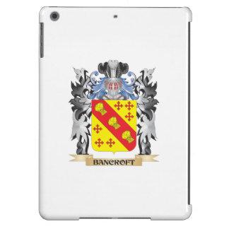 Escudo de armas de Bancroft - escudo de la familia Funda Para iPad Air
