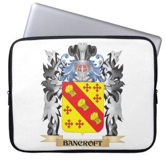 Escudo de armas de Bancroft - escudo de la familia Funda Portátil