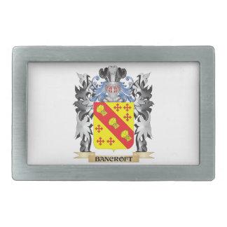 Escudo de armas de Bancroft - escudo de la familia Hebilla De Cinturón Rectangular