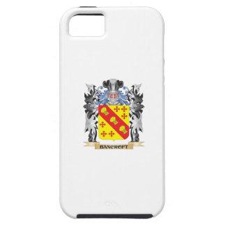 Escudo de armas de Bancroft - escudo de la familia iPhone 5 Fundas