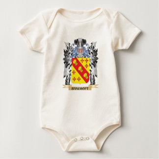 Escudo de armas de Bancroft - escudo de la familia Mamelucos De Bebé
