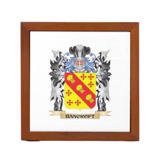 Escudo de armas de Bancroft - escudo de la familia Organizador De Escritorio
