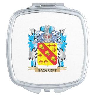 Escudo de armas de Bancroft Espejos Compactos