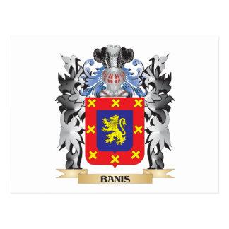 Escudo de armas de Banis - escudo de la familia Postal
