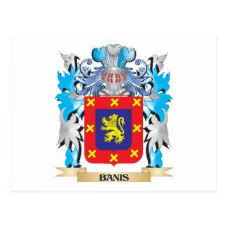 Escudo de armas de Banis Tarjetas Postales