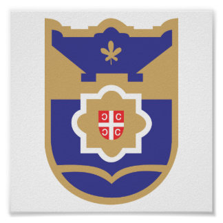 Escudo de armas de Banja Luka Impresiones