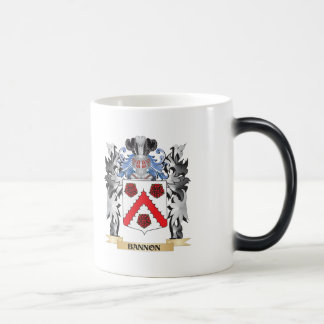 Escudo de armas de Bannon - escudo de la familia Taza Mágica