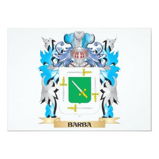 Escudo de armas de Barba Comunicado