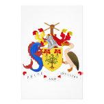 Escudo de armas de Barbados Papeleria Personalizada