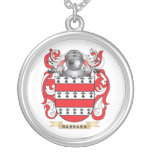 Escudo de armas de Barbara (escudo de la familia) Collar