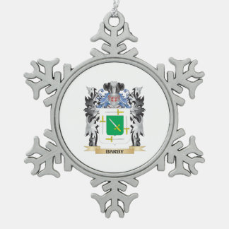 Escudo de armas de Barby - escudo de la familia Adorno De Peltre En Forma De Copo De Nieve