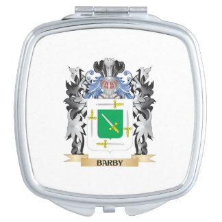 Escudo de armas de Barby - escudo de la familia Espejo De Maquillaje