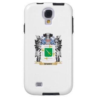 Escudo de armas de Barby - escudo de la familia Funda Para Galaxy S4