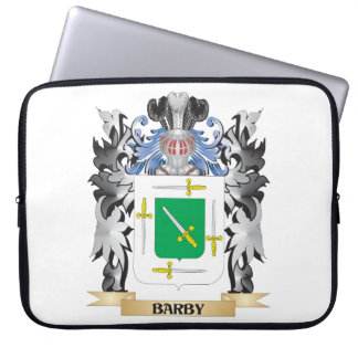 Escudo de armas de Barby - escudo de la familia Fundas Computadoras