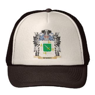 Escudo de armas de Barby - escudo de la familia Gorra