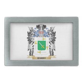 Escudo de armas de Barby - escudo de la familia Hebilla Cinturón Rectangular