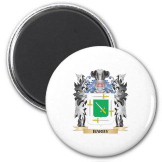 Escudo de armas de Barby - escudo de la familia Imán Redondo 5 Cm