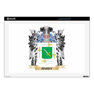 Escudo de armas de Barby - escudo de la familia Skins Para Portátiles